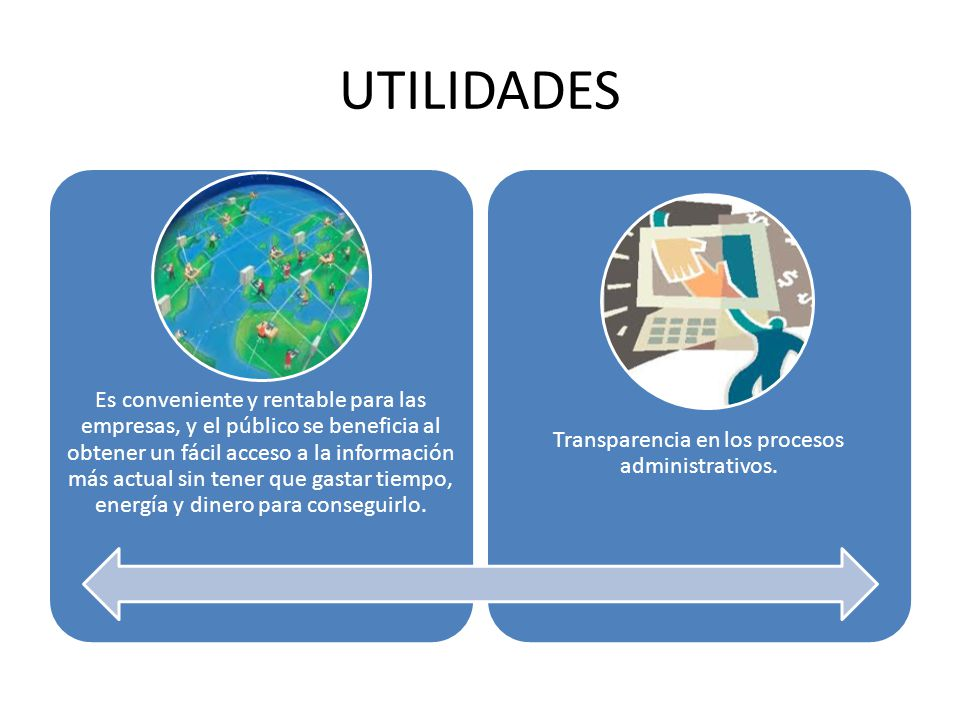 UTILIDADES Es conveniente y rentable para las empresas, y el público se beneficia al obtener un fácil acceso a la información más actual sin tener que