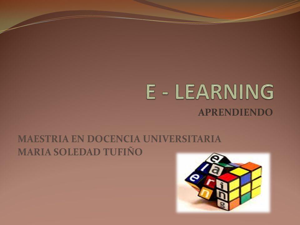 DEFINICION El e-learning ofrece herramientas para mejorar el nivel de aprendizaje.