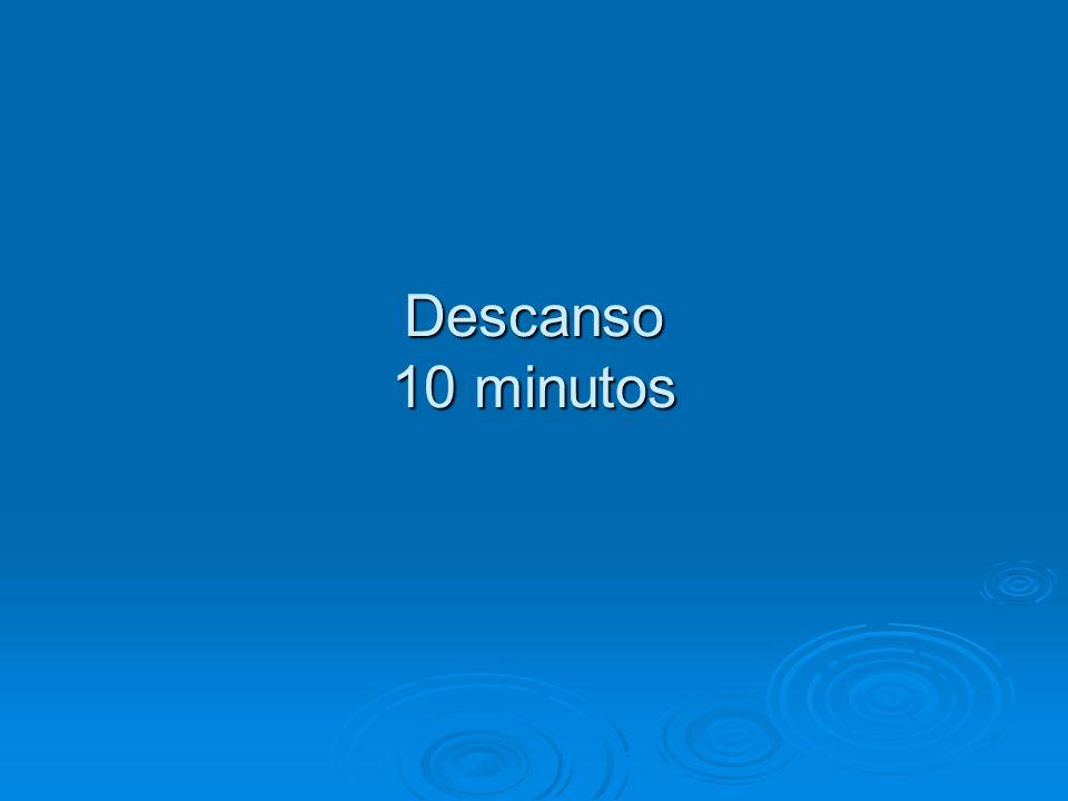 Descanso 10 minutos