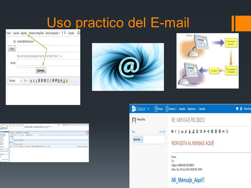 Uso practico del E-mail