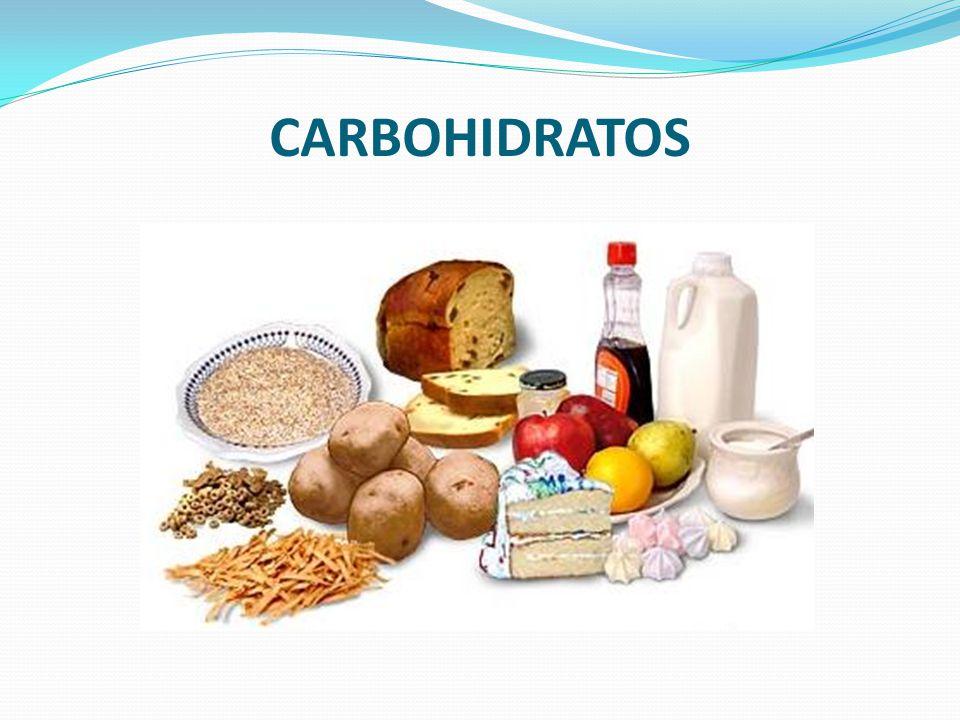 Carbohidratos (Hidratos de Carbono) También llamados Glucósidos, están formados por azucares.