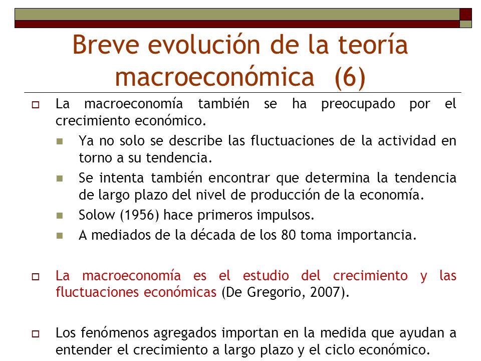 Breve evolución de la teoría macroeconómica (6) La macroeconomía también se ha preocupado por el crecimiento económico. Ya no solo se describe las flu