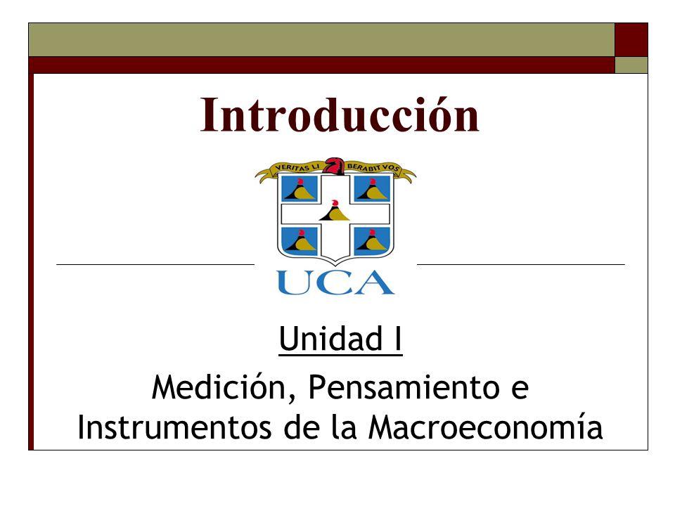 Entendiendo a la Macroeconomía Moderna ¿Cuán importante es el estudio de la Macroeconomía.