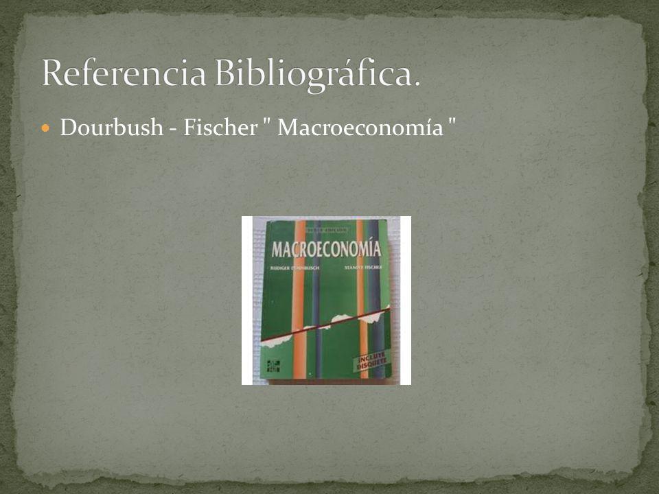 Dourbush - Fischer Macroeconomía