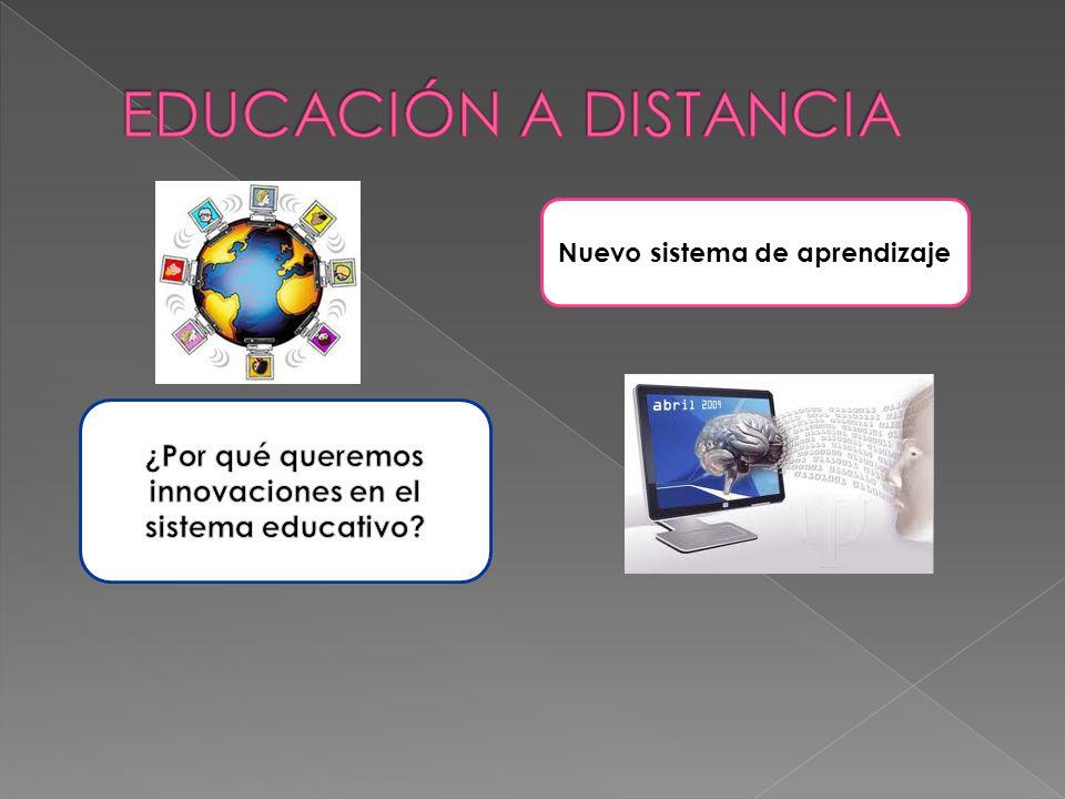 Nuevo sistema de aprendizaje