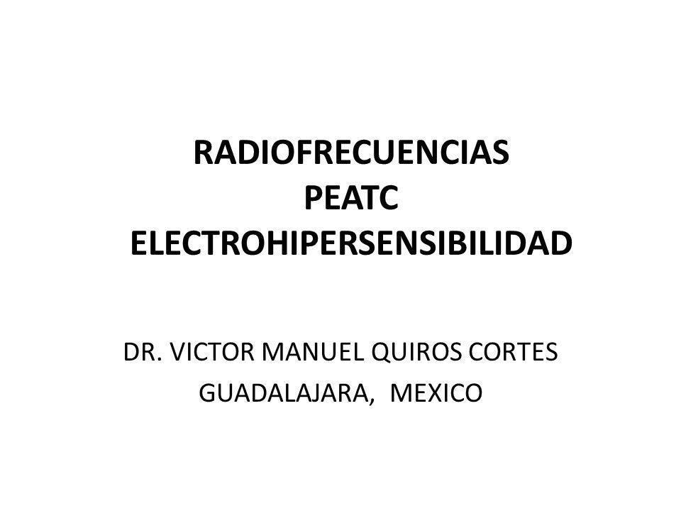 PEATC y radiofrecuencias 1.PEATC oído derecho con audición normal testigo.