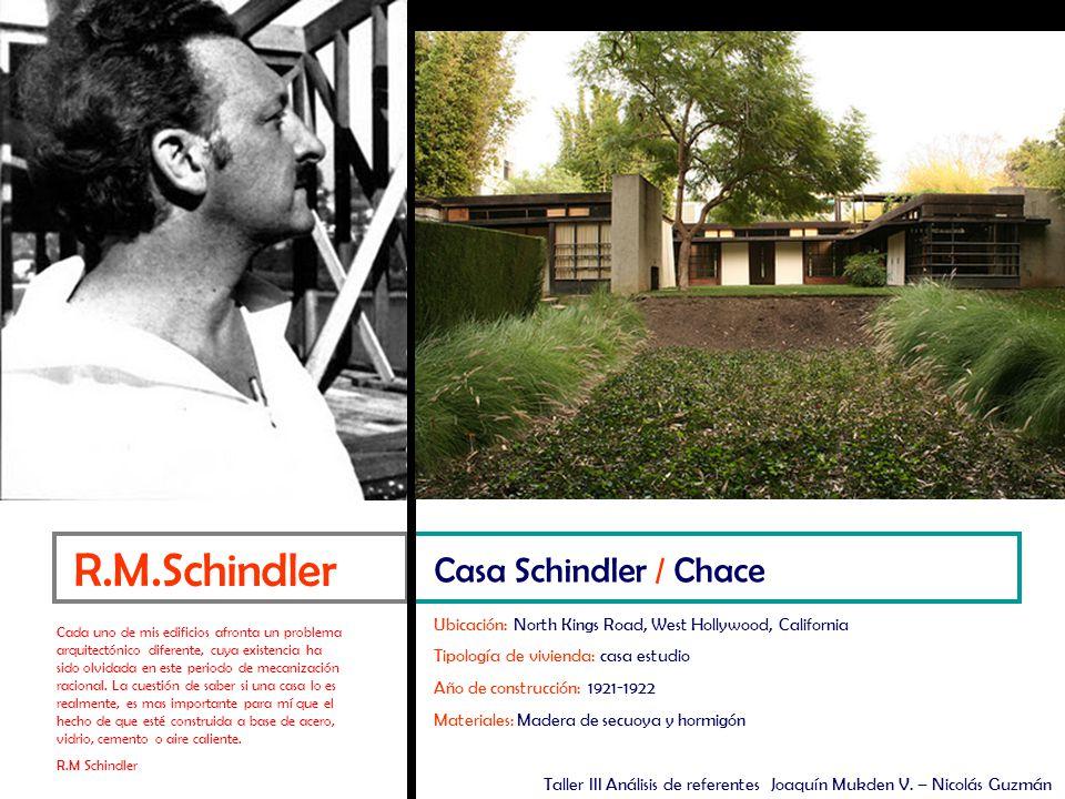 Emplazamiento Emplazamiento Actual Casa Schindler / Chace