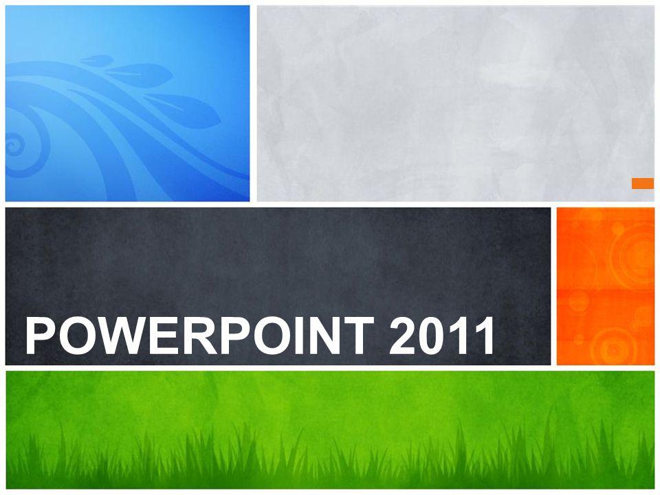 ¿Cuál es el mensaje POWERPOINT 2011