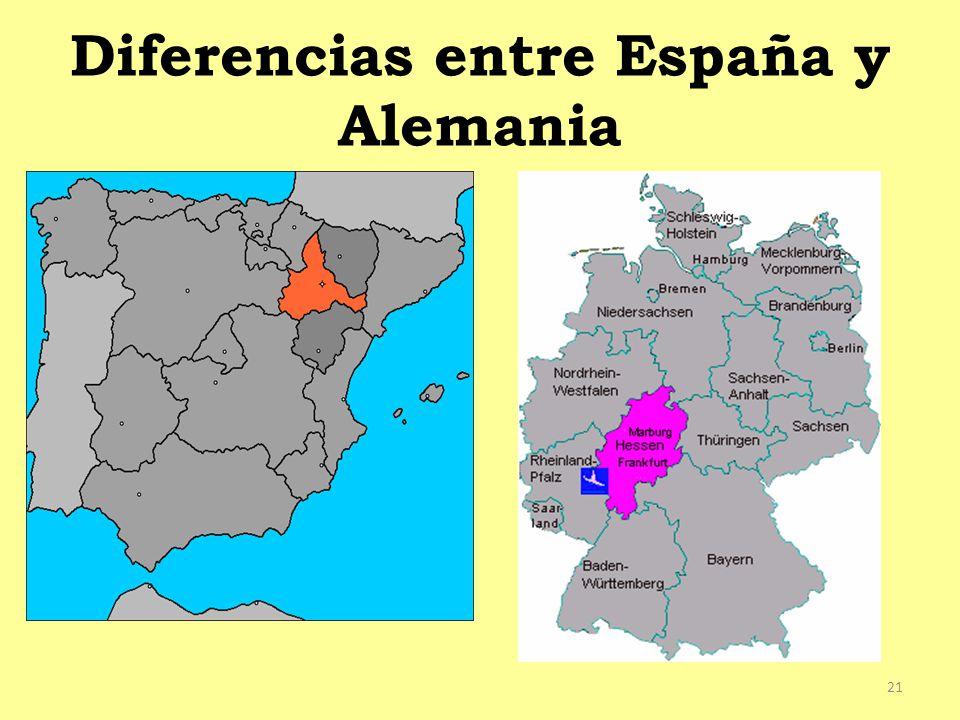 Diferencias entre España y Alemania 21