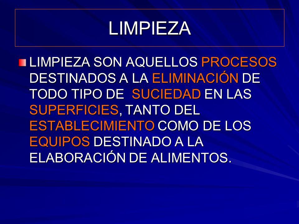LIMPIEZA EL CEPILLADO ELIMINA LA SUCIEDAD GROSERA.