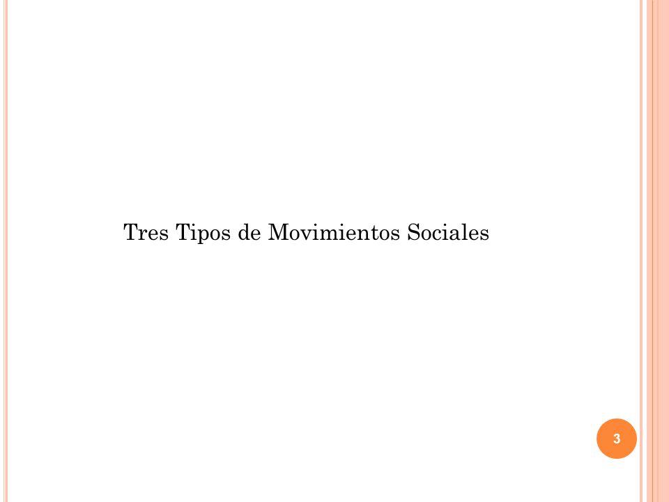 Tres Tipos de Movimientos Sociales 3