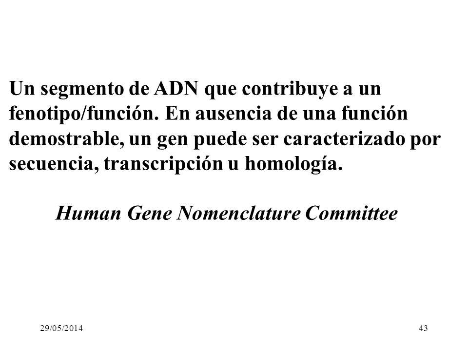 QUE SON LOS GENES ? o Algo que determina un rasgo particular o Un segmento de ADN que codifica para una proteina o Una unidad de herencia 29/05/201442