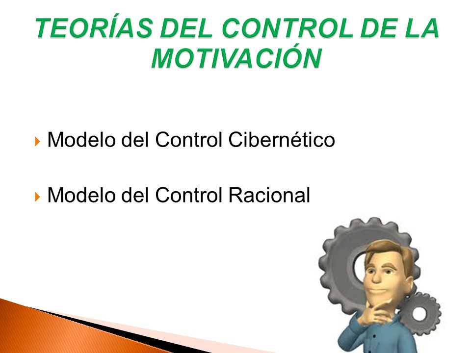 Modelo del Control Cibernético Modelo del Control Racional