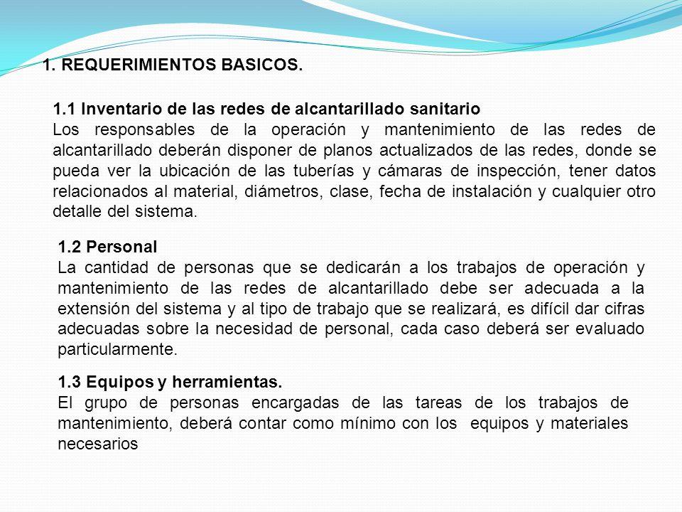 2.IDENTIFICACION DE PROBLEMAS EN LAS REDES DE ALCANTARILLADO.