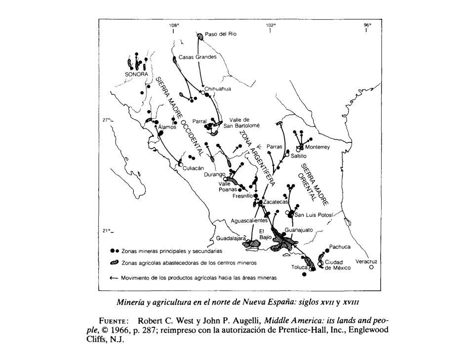 Etapas comercio de larga distancia 1561- 1739 Sistema de Flotas y Galeones.