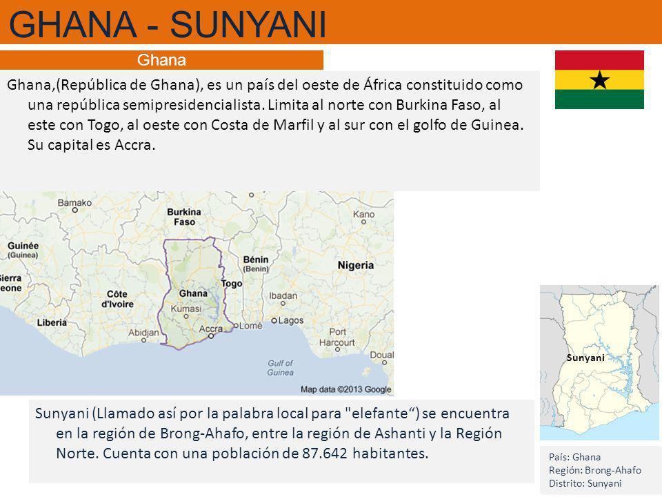 Ghana,(República de Ghana), es un país del oeste de África constituido como una república semipresidencialista.