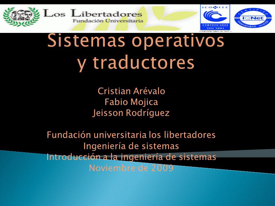 Cristian Arévalo Fabio Mojica Jeisson Rodríguez Fundación universitaria los libertadores Ingeniería de sistemas Introducción a la ingeniería de sistem