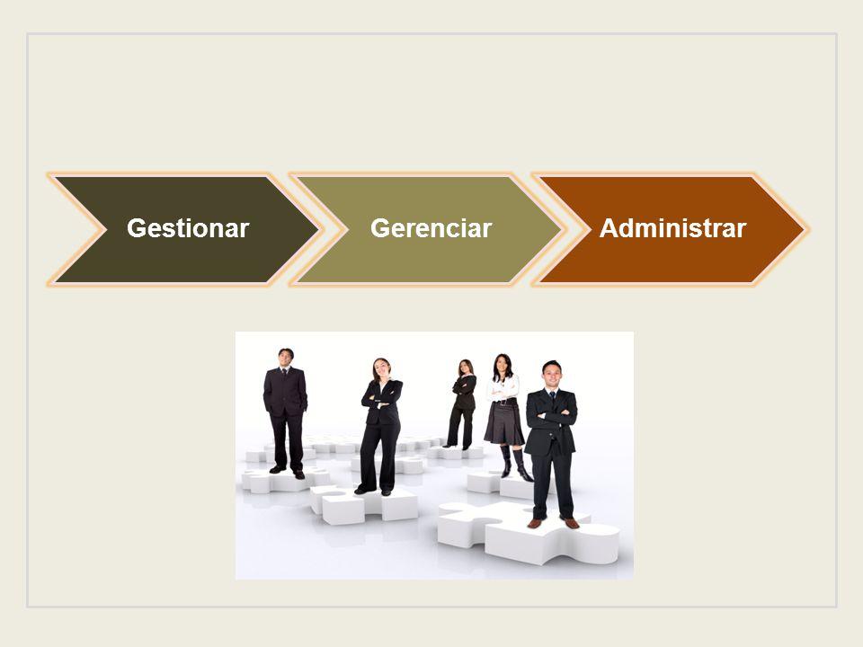 GestionarGerenciarAdministrar