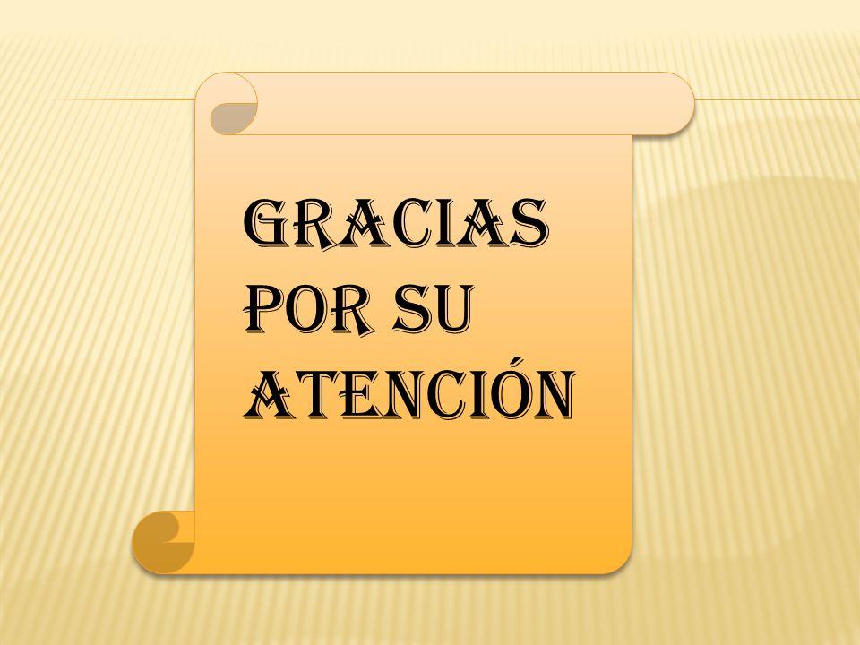 z Gracias por su atención