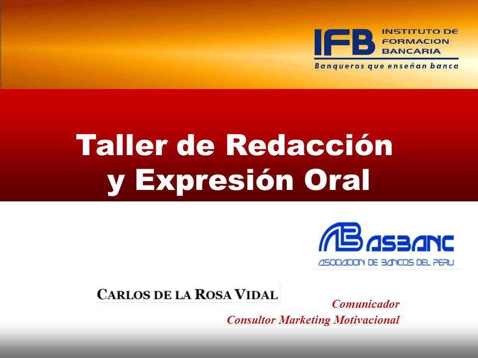 Taller de Redacción y Expresión Oral Comunicador Consultor Marketing Motivacional