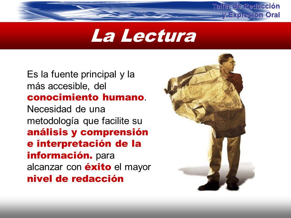 La Lectura Instituto de Formación Bancaria Copyright © 2008 Carlos de la Rosa Es la fuente principal y la más accesible, del conocimiento humano. Nece