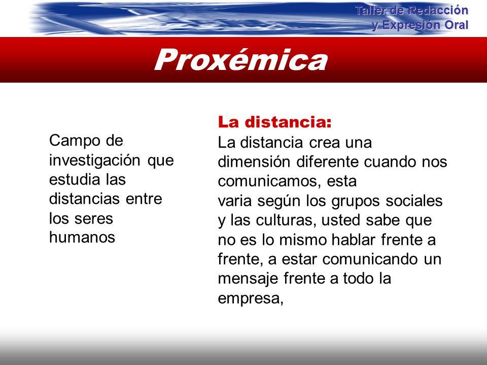 Proxémica Instituto de Formación Bancaria Copyright © 2008 Carlos de la Rosa Campo de investigación que estudia las distancias entre los seres humanos