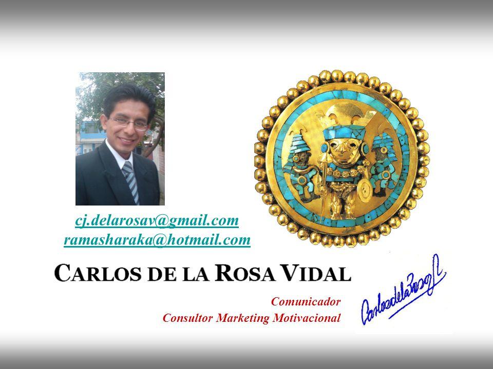 Instituto de Formación Bancaria Copyright © 2008 Carlos de la Rosa cj.delarosav@gmail.com ramasharaka@hotmail.com Comunicador Consultor Marketing Moti