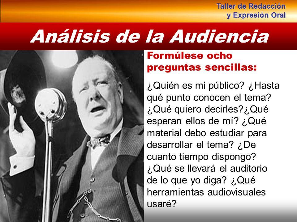 Instituto de Formación Bancaria Copyright © 2008 Carlos de la Rosa Análisis de la Audiencia Formúlese ocho preguntas sencillas: ¿Quién es mi público?