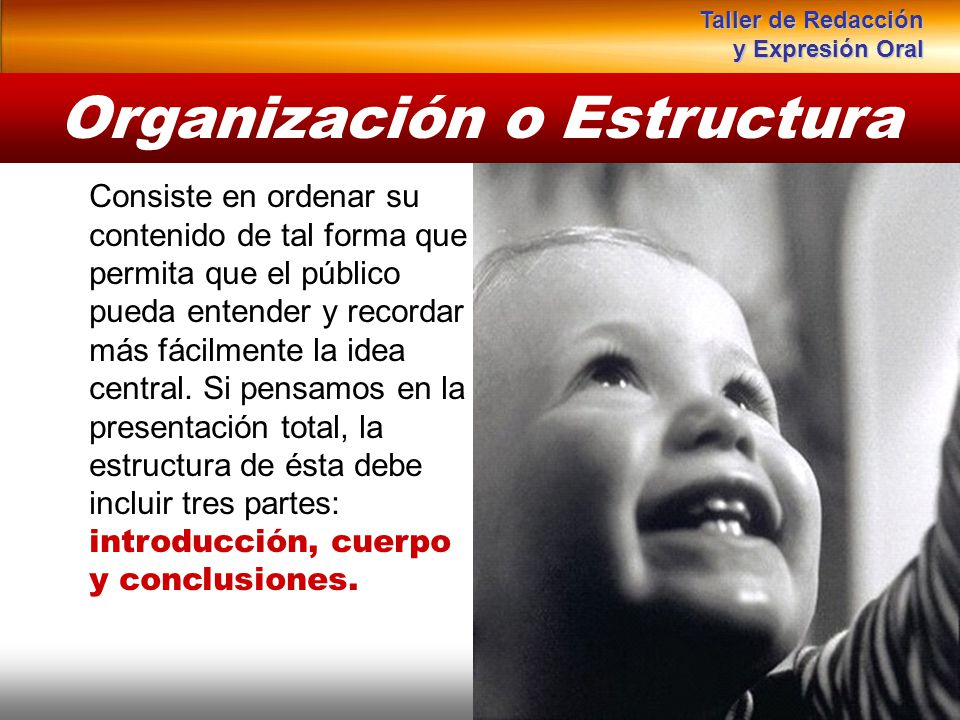 Instituto de Formación Bancaria Copyright © 2008 Carlos de la Rosa Consiste en ordenar su contenido de tal forma que permita que el público pueda ente