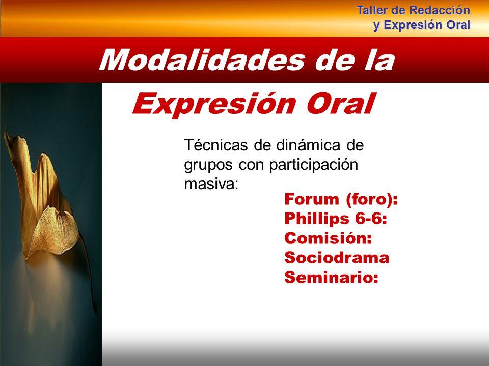 Instituto de Formación Bancaria Copyright © 2008 Carlos de la Rosa Técnicas de dinámica de grupos con participación masiva: Modalidades de la Expresió