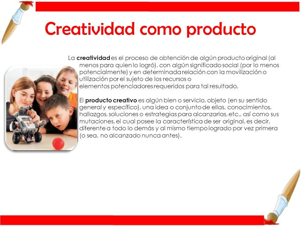 Creatividad como proceso El proceso creativo no es un proceso fácil.