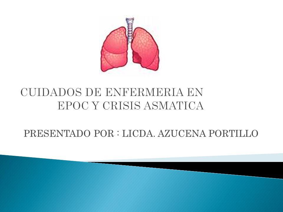 Es una de las enfermedades más comunes de los pulmones que causa dificultad para respirar.