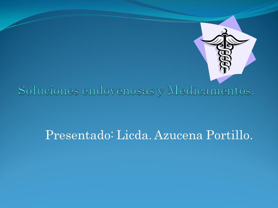 Presentado: Licda. Azucena Portillo.