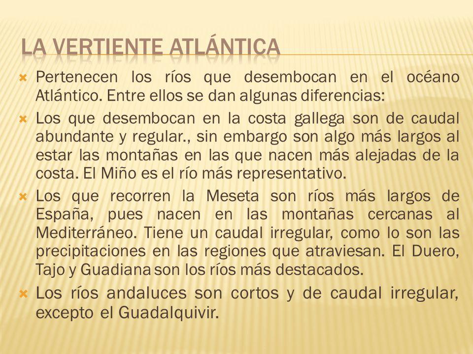 Está formada por el territorio cuyos ríos desembocan en el mar Cantábrico. Nacen en la Cordillera Cantábrica, cerca de la costa, sus ríos son cortos.