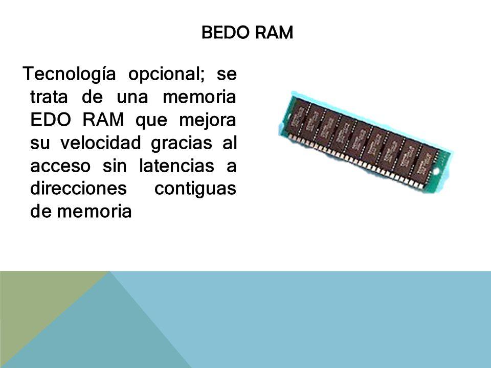 DRAM Es el tipo de memoria más común y económica, construida con capacitores por lo que necesitan constantemente refrescar el dato que tengan almacenado, haciendo el proceso hasta cierto punto lento