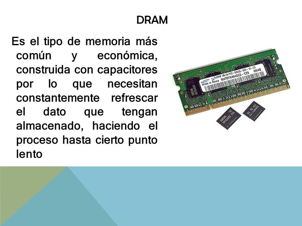 SDRAM Tecnología DRAM que utiliza un reloj para sincronizar con el microprocesador la entrada y salida de datos en la memoria de un chip.