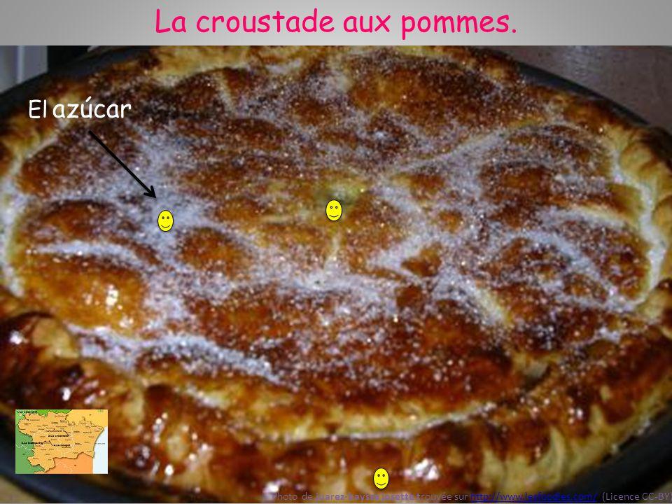 La croustade aux pommes. Photo de juarez-baysse josette trouvée sur http://www.lesfoodies.com/ (Licence CC-BY)http://www.lesfoodies.com/