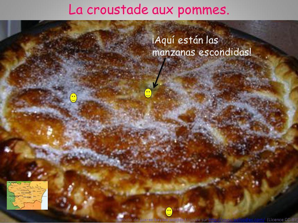 La croustade aux pommes. El azúcar Photo de juarez-baysse josette trouvée sur http://www.lesfoodies.com/ (Licence CC-BY)http://www.lesfoodies.com/