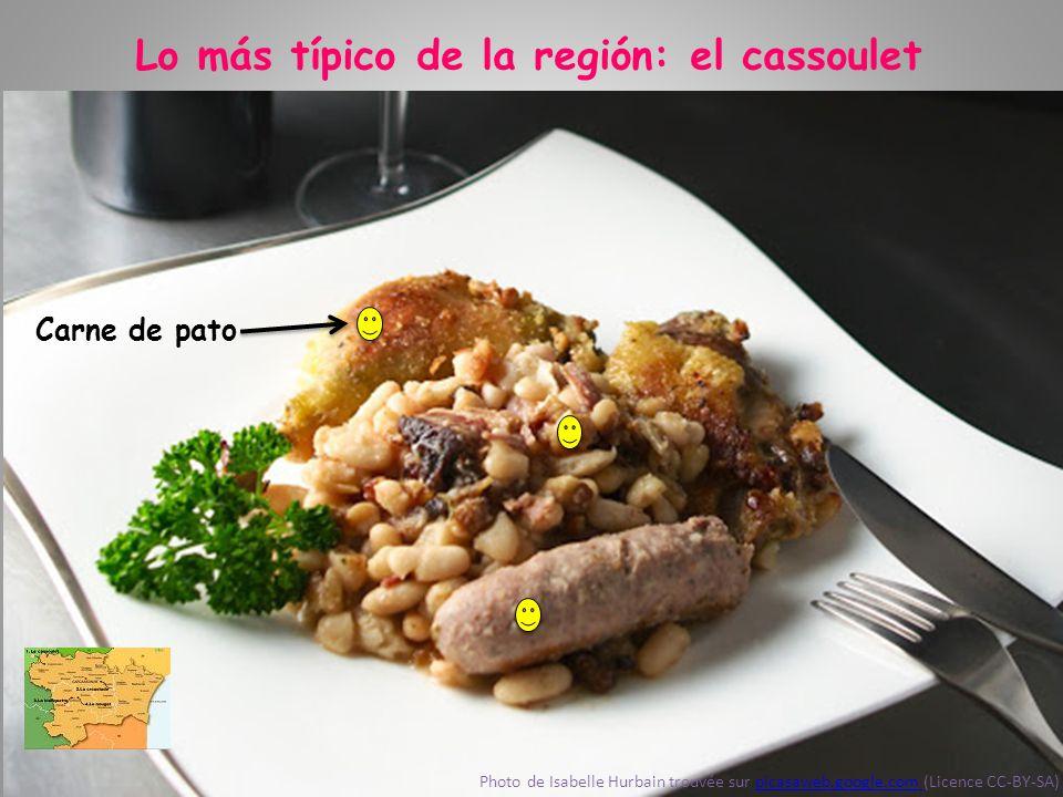 Lo más típico de la región: el cassoulet Photo de Isabelle Hurbain trouvée sur picasaweb.google.com (Licence CC-BY-SA)picasaweb.google.com
