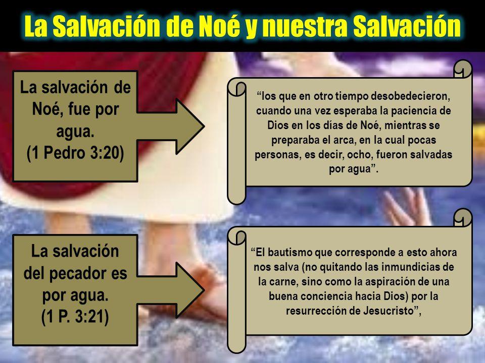 los que en otro tiempo desobedecieron, cuando una vez esperaba la paciencia de Dios en los días de Noé, mientras se preparaba el arca, en la cual poca