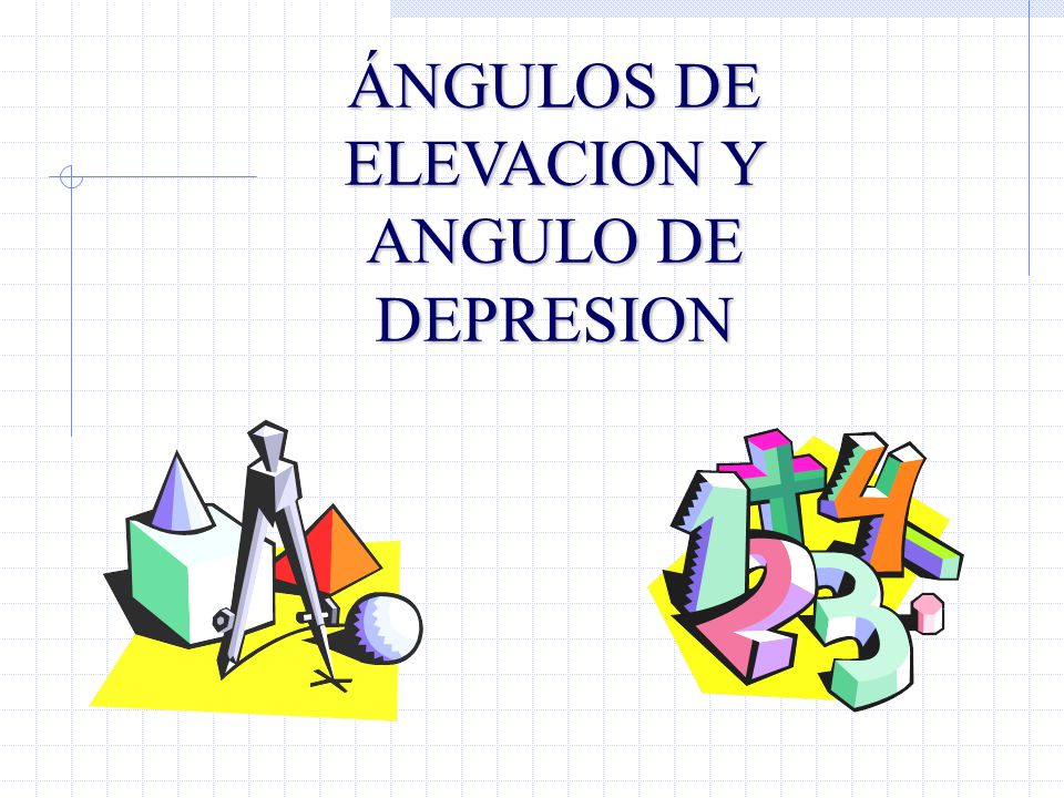 a)Ángulo de Elevación : Es el ángulo formado por la línea horizontal y la línea de mira.