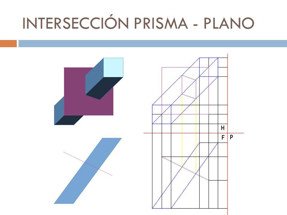 INTERSECCIÓN PRISMA - PLANO