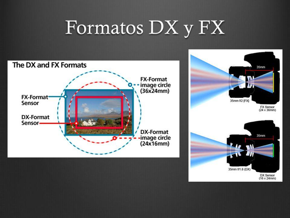 Formatos DX y FX