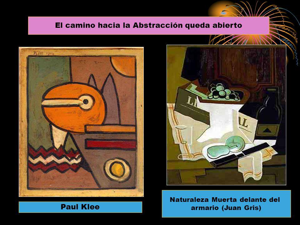 Paul Klee Naturaleza Muerta delante del armario (Juan Gris) El camino hacia la Abstracción queda abierto