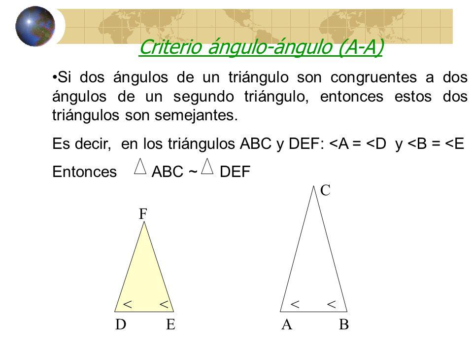 Criterios de Semejanza de Triángulos Aquí estoy Daly!!