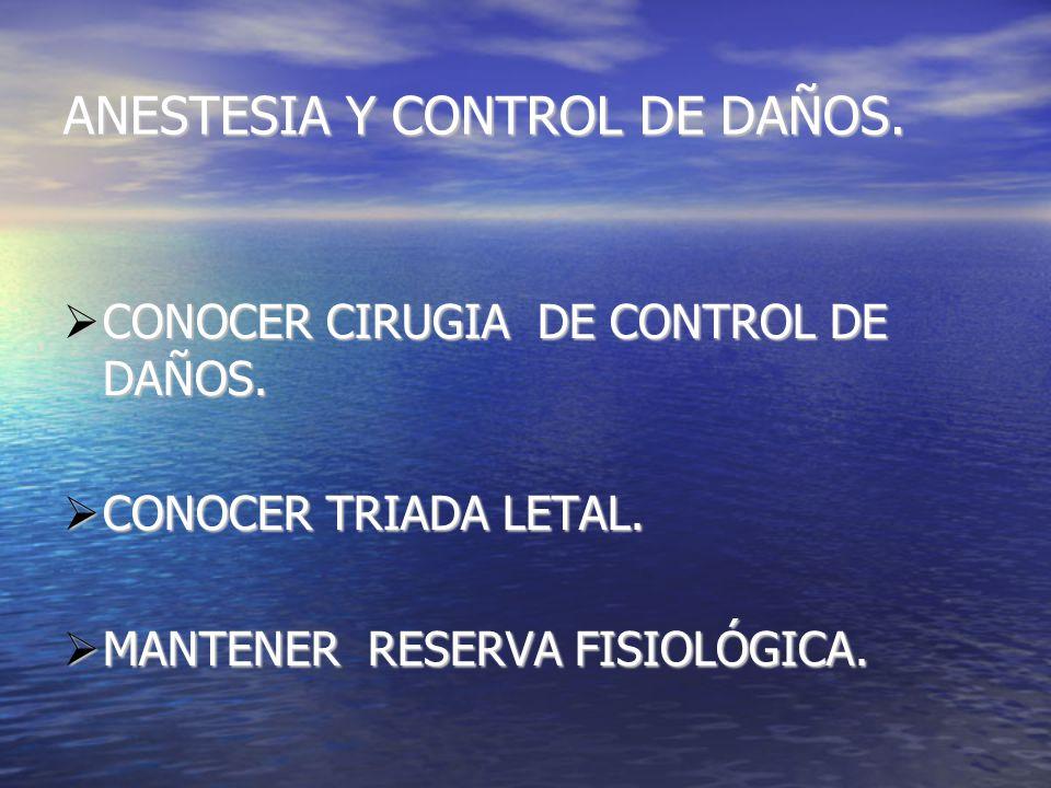 CONOCER CIRUGIA DE CONTROL DE DAÑOS. CONOCER CIRUGIA DE CONTROL DE DAÑOS.