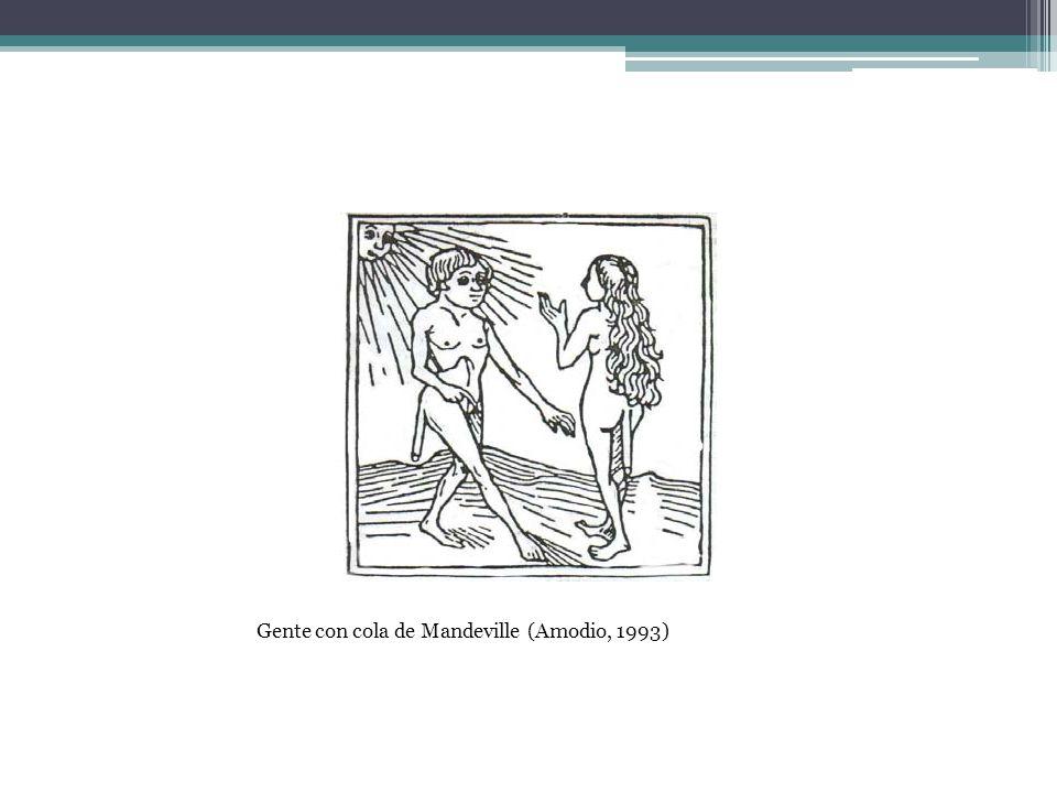 Gente con cola de Mandeville (Amodio, 1993)