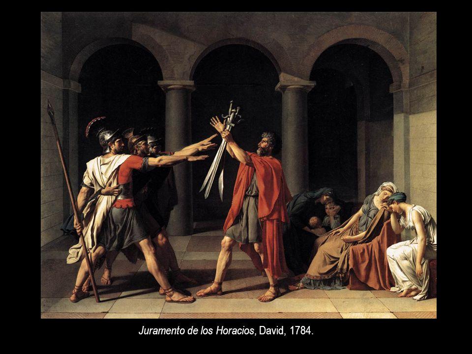 La muerte de Marat, David, 1793.