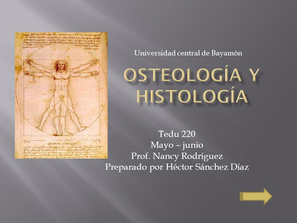Tedu 220 Mayo – junio Prof. Nancy Rodríguez Preparado por Héctor Sánchez Díaz Universidad central de Bayamón