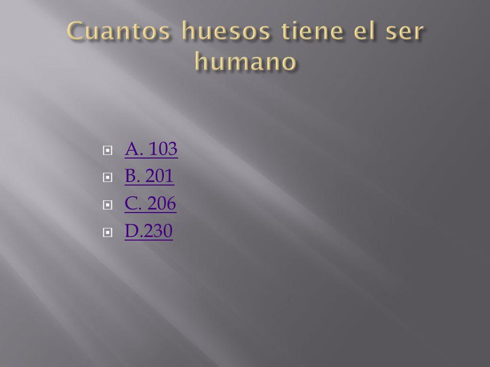 A. 103 B. 201 C. 206 D.230